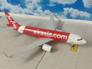 Air Asia Airbus A320 200 NEO 1/150 Scale with Stand and Landing Gears