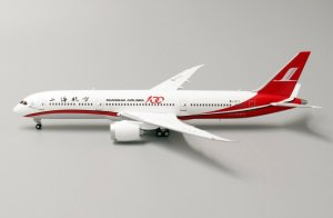 "Shanghai Airlines Boeing 787-9 Dreamliner ""100th"" B-1111 1/400 Scale Diecast Aircraft Model Jcwings LH4128"