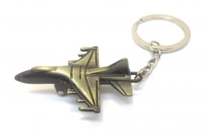 Fighter Jet Airplane Keychain