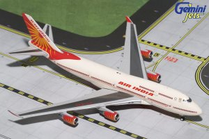 Air India Boeing 747400 New Livery VT-EVA 1/400 Scale Diecast Aircraft Model Geminijets GJAIC1638