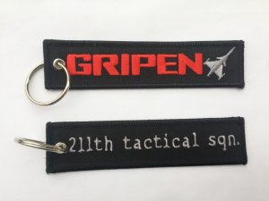 GRIPEN/211th Tactical Squadron Keyring