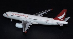 Cathay Dragon Airbus A320 B-HSO 1/200 Scale Diecast Metal Aircraft Model Jcwings