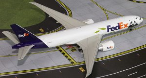 Fedex PandaExpress/Bambo Boeing 777F N892FD 1/200 Scale Diecast Metal Aircraft Model Jcwings