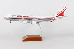 Air India Boeing 747-400 VT-EVA Polished With Stand 1/200 Scale