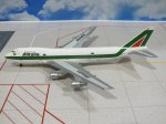 Alitalia Airways Boeing 747-200 Reg I-DEMV 1/400 Scale Diecast Aircraft Model Herpa 560283