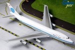 Pan American World Airways(PAN AM) Boeing 747-100 (DELIVERY COLORS, POLISHED) N734PA 1/200 Scale Airplane Model Geminijets G2PAA790