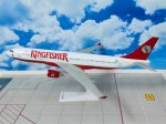 Kingfisher Airlines Airbus A330-200 1/200 scale aircraft scale model