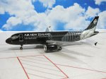 Air New Zealand All Blacks Airbus A320 ZK-OJR 1/200 Scale Diecast Metal Aircraft Model Hogan 3008