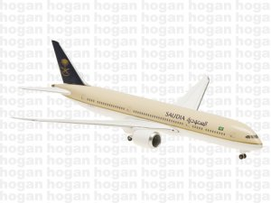 Saudia Boeing 787900 Dreamliner Onground 1.400 Scale aircraft model hogan HG5156