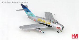 LIM-5 (MIG-17F) 1717, 45th Experimental Aviation Squadron, 12th July 1993 Diecast Aircraft Model 1.72 Scale Hobbymaster HA5905