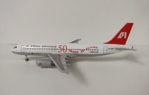 Indian Airlines Airbus A320-200 50th Aniversary VT-EVP 1/200 Scale Aircraft model Hogan HG11083
