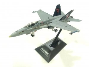 F18 FA-18C Hornet McDonnell Douglas VFA-131 US Navy 1/144 scale Diecast Metal Fighter Aircraft Model Wittywings