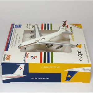 Gulf Air Cargo Boeing 707 N448M 1/400 Scale Diecast Metal Aircraft Model Aviation400 AV4707018