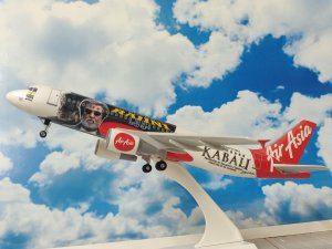 Air Asia India Kabali Airbus A320 1/150 Scale Aircraft Model