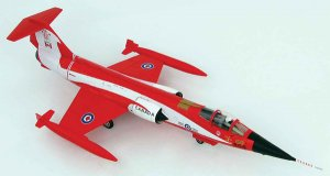"CF-104 Starfighter ""Coke Bottle"" 104868, 421 Squadron, CAF, 1981 Diecast Aircraft Model 1.72 Scale Hobbymaster HA1037"