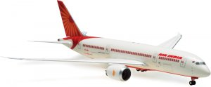 Air India Boeing 787-800 Dreamliner new livery Aircraft Model ONGROUND with gears 1.200 scale HG0977GR