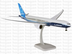 House Colors First Flight Boeing 777-9 1.200 scale Aircraft Model 11304GR