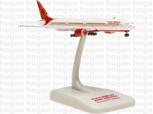 Air India Boeing 777-300ER VT-ALJ 1.1000 Scale 7.5 CM Long Miniature Diecast Metal Aircraft Model Hogan HG9192