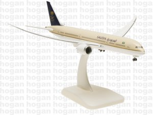 Saudia Boeing 787900 Dreamliner Inflight 1.400 Scale aircraft model hogan HG5149