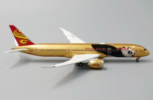 "Hainan Airlines Boeing 787-900 Dreamliner ""Kung Fu Panda 4"" ""Flaps Down"" 1/400 Scale diecast Aircraft Model Jcwings XX4033A"