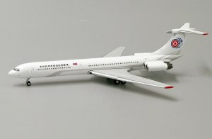North Korea Government Ilyushin IL62 1/400 Scale Diecast Metal Aircraft Model Jcwings KD4104