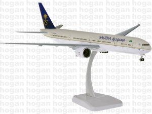 Saudia Boeing 777-300ER new livery 1.200 scale Aircraft Model Hogan HG11175GR