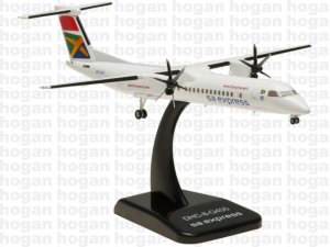 South African Express Airways Bombardier DHC-8-Q400 1/200 Scale ZS-YBY Diecast Airplane Model HG5651