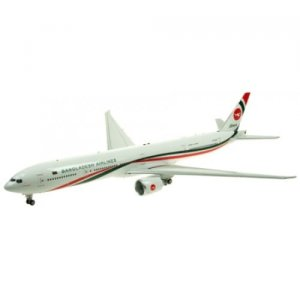 Biman Bangladesh Boeing 777-300ER S2-AHN With Stand 1/200 Scale Diecast Airplane model IF77730317