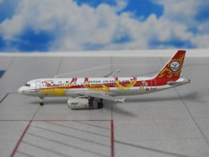 Sichuan Airlines Airbus A320-200 B-6388 1/400 Scale Diecast Metal Aircraft Model Aeroclassics ACB6388