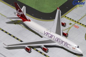 Virgin Atlantic Airways Boeing 747-400 G-VBIG 1/400 Scale Diecast Aircraft Model Geminijets GJVIR1799