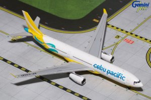 Cebu Pacific Airways Airbus A330-300 (New Livery) RP-C3347 1.400 Scale Aircraft Model Geminijets CEB4A33