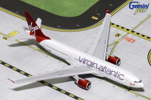 Virgin Atlantic Airways Airbus A330-200 G-VMIK 1/400 Scale Diecast Metal Aircraft Model Geminijets GJVIR1763