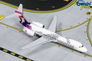Hawaiian Airlines Boeing B717-200 (NEW LIVERY) N490HA 1.400 Scale Aircraft Model Geminijets GJHAL1789