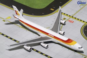 Iberia Airways A340-300 (OLD LIVERY) EC-GUP 1.400 Scale Aircraft Model Geminijets GJIBE1630