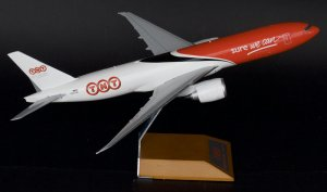TNT Airways Boeing 777F OO-TSC 1/200 Scale Metal Aircraft Model Jcwings XX2227