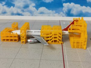 Aircraft Maintenance Scaffolding 1/400 Scale Geminijets GJAMS1828