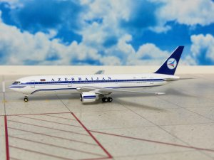 Azerbaijan Airlines Boeing 767300ER 4K-AI01 1/400 Scale Diecast Metal Aircraft Model Phoenix 10581