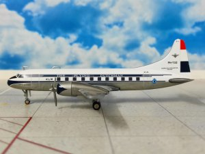 KLM Convair CV-340 Reg PH-TGD 1/200 Scale Diecast Metal Aircraft Model Herpa HE559393