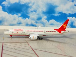 "Air India Boeing 787-800 Dreamliner ""Ik Onkar"" Livery Reg VT-ANQ 1/400 Scale Diecast Metal Aircraft Model Phoenix PH11624"