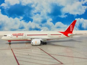 Air India Boeing 787-800 Dreamliner Mahatma Gandhi Livery Reg VT-ANP 1/400 Scale Diecast Metal Aircraft Model Phoenix PH11623