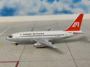 Indian Airlines Boeing 737-200 Reg VT-ECP 1/400 Scale Diecast Metal Aircraft Model Aeroclassics AC419783