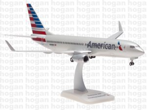 American Airlines Boeing 737-800 with winglets Reg N908NN 1/200 Scale Aircraft Model Hoganwings HG0748