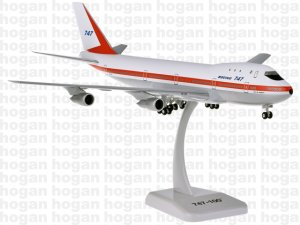 Boeing House Colors 747-100 City of Everett 1.200 Scale Aircraft Model Hogan HG11014