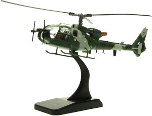 Aérospatiale/Westland Gazelle 1/72 Scale Diecast Metal Helicopter Model Aviation72 AV7224004