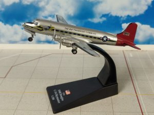 USA 1948 Douglas C-54 Skymaster Reg 49047 1/200 scale Airplane Model Amercom C5412AMR