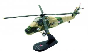 Westland Wessex HU.Mk 5 RNFAA No.845 NAS Reg XS507 1/72 Scale Diecast Metal and Plastic Helicopter Model Amercom ACHY12