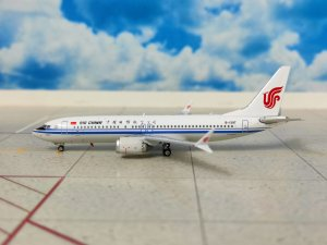 Air China Boeing 737 Max Reg B-1397 1/400 Scale Diecast Metal Aircraft Model Phoenix PH11438