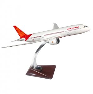 Air India Boeing 787 Dreamliner Reg VT-ANI 42 CM Resin Miniature Aircraft Model AI787RS42CM