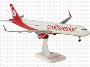 "Air Berlin Airbus A321 ""DUSSELDORF"" Sharklets D-ABCO 1.200 scale airplane model hogan HGAB08"