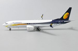 Jet Airways Boeing 737 Max 1/400 Scale Diecast Metal Aircraft Model Jcwings XX4057